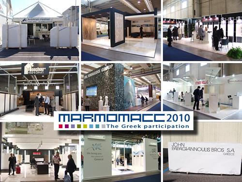 _Marmomacc 2010 - The Greek Participation_