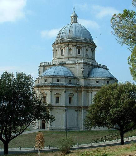 Todi (Umbrien) S. Maria Della Consolazione