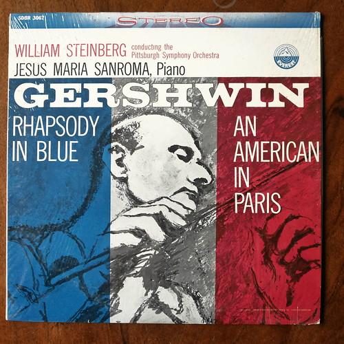 Gershwin - Rhapsody In Blue, An American In Paris - Jesus Maria Sanroma Piano, Pittsburgh SO, William Steinberg, Everest SDBR 3067, 1960, 35mm Recording,