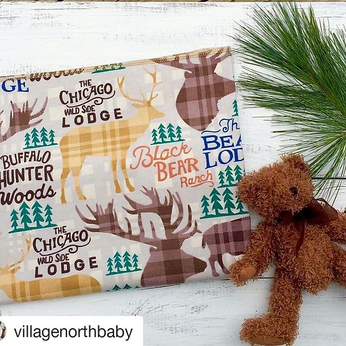 Sunday Share Day! Meet my friend Natashja from @villagenorthbaby. Her Etsy page is http://www.villagenorthbaby.etsy.com. This lovely receiving blanket is a perfect gift for mommy or daddy's little guy. Perfect for a baby shower gift, themed bedroom or jus