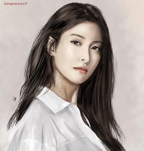 Gyuri 2017 fanart👏~She looks cool but her mature charming is really special (Mature girls are my most favorite type)  @gyuri_88 #kara #kpopfanart#fanart #gyuri #奎利 #박규리 #한승연 #구하라 #ハラ #スンヨン #ギュリ #카라 #カラ#kpop #kdrama #drawing #sketching#digitalart #art