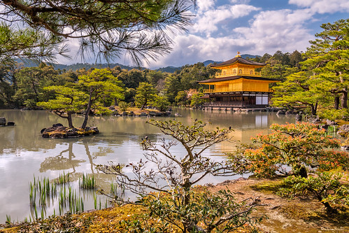 Japanese Brilliance || Brillantez Japonesa (Golden Pavilion, Kinkaku-ji. Kyoto)