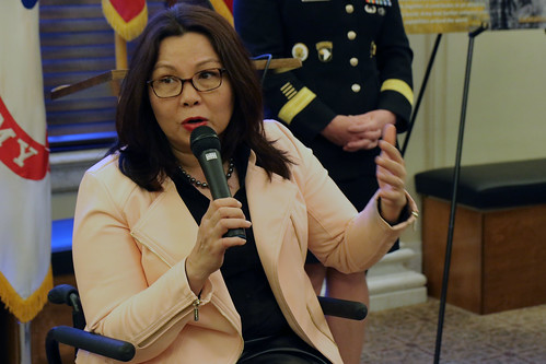 Flora shares personal story at Congressional reception