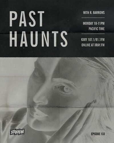 10 pm // Tonight on Past Haunts, a closed-circuit headspace with tracks by Deathprod, Kane Ikin, SciFiSol Music, Jac Berrocal, Dva Damas, Félicia Atkinson, The Golden Filter and more. Listen in from 10-11PM (PDT) on the dial at 107.1 + 91.1 FM (PDX) 99.9