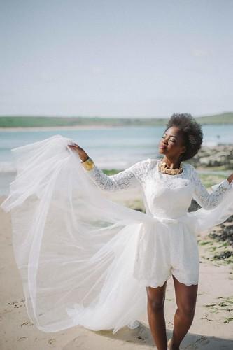 Bridal playsuit