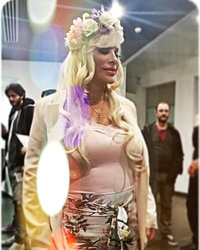 CICCIOLINA, la fatina protettrice di tutti noi porcellini. Fantastica sorpresa ieri sera al Hacker Porn Film Festival! !!!