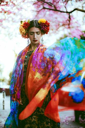 Portrait Inspired by Frida Kahlo