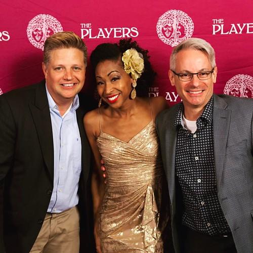 Gary Bertalovitz, Diva N'Kenge and Arthur Massei at The Players Club Gramercy.