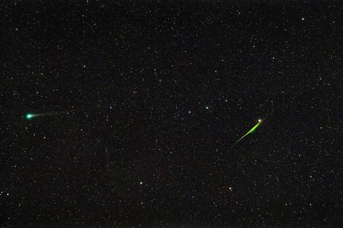 C/2015 ER61 PANSTARRS and Meteors in Aquarius April 30, 2017
