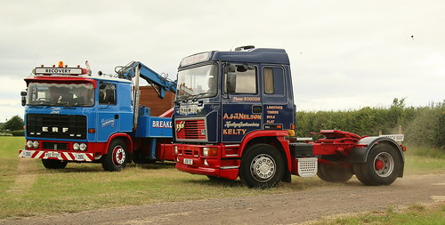 ERF's B&E The Scottish Trucks have  Always the Best Signs A&J Nelson Kelty Frank Hilton. IMG_9945_