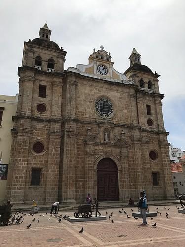 Iglesia de San Pedro Claver, Cartagena, Colômbia.