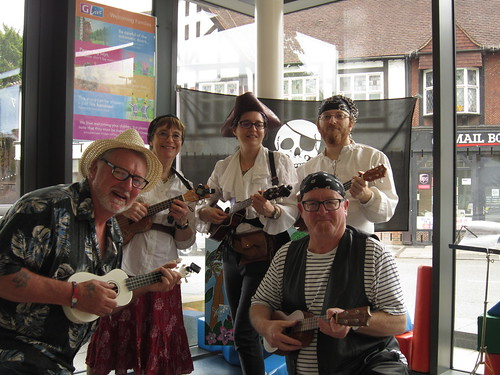 UkeJam pirates at GLive May 2017