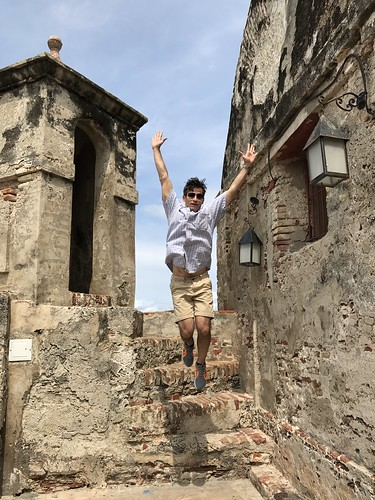 El Castillo de San Felipe de Barajas, Cartagena, Colômbia.