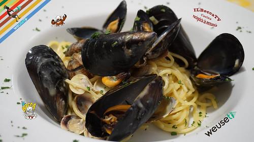 396 - Carbonara di mare...c'è anche chi ci fa le gare! #ilboccatv #recipe #cooking
