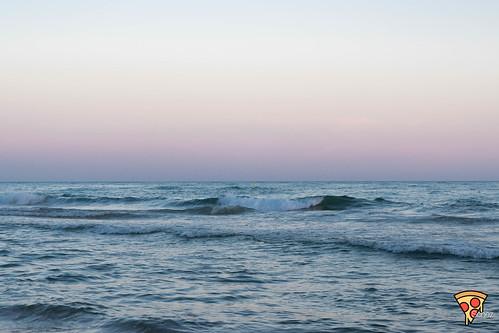 Océano Atlántico desde Mazagón, Huelva