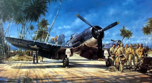 1943 10, Black Sheep Squadron - John D. Shaw