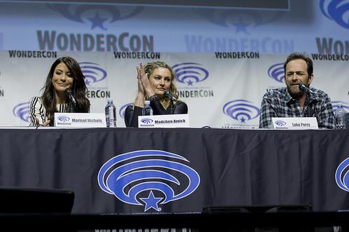 Marisol Nichols, Madchen Amick and Luke Perry