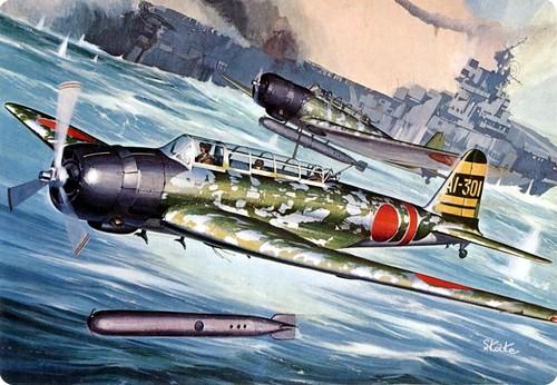 1942 Nakajima B5N2 Type 97 'Kate'  AI-301 Mitsuo Fuchida - Shigeo Koike - box art Aoshima