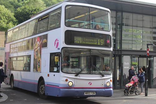 First West of England Volvo B7TL/Transbus ALX400) 32280 (WR03 YZM)