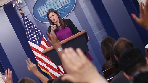 White House press briefings have been off-camera for weeks. Then a rogue reporter turned on Periscope.