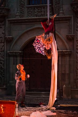 2017-07-08 Immaginario Teatro (63) - Piero Partigianoni, Natalia Calles - Die italienische Gruppe Immaginario Teatro mit ihrem Stueck