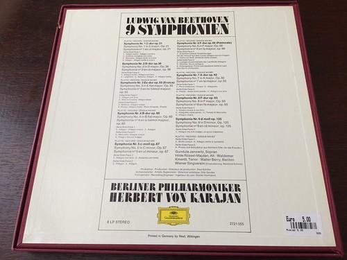 Ludwig van Beethoven - Von Karajan, Berliner Philharmoniker – 9 Symphonien