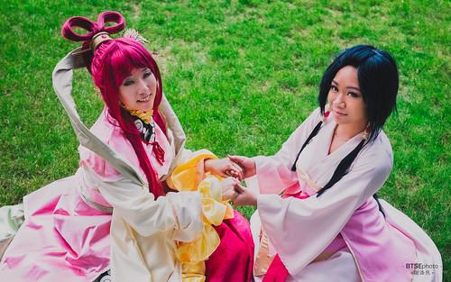 Kougyoku Ren (練 白瑛) & Hakuei Ren (練 白瑛)