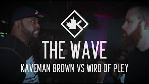 KOTD - Rap Battle - Kaveman Brown vs Wird Of Pley | #ReadyOrNot