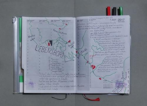 Agenda Kalender 26th Week 26. June - 2. July / 2: Map (for guidance): Exploration Lebensborn (