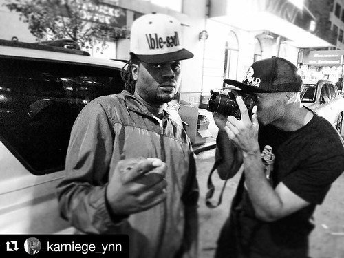 #RP @karniege_ynn 📣S/O @crazyalcayne for having  me on the show @spittinindawip🔥 Congrats on the show, they just made thei r #10yearanniversary.👏 Also S/O @poetikempire on  the fresh Hat!🌊✊Pho to by @thedoubleab #hiphop #culture