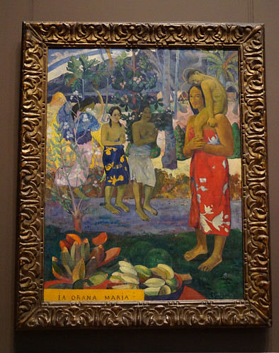 La Orana Maria (Hail Mary; 1891) by Paul Gauguin - Metropolitan Museum of Art, NYC