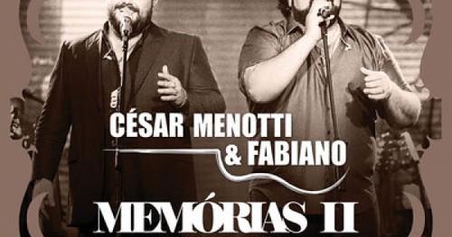 César Menotti e Fabiano - Blusa Vermelha/Castelo de Amor [Áudio Oficial]