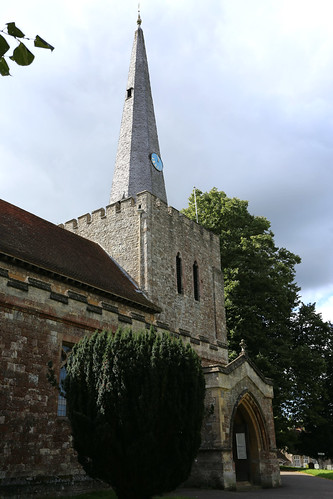 St Mary the Virgin, West Malling, Kent