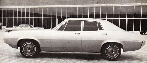 1968 Clay Mock Up For The Australian Designed 1972 XA Ford Falcon
