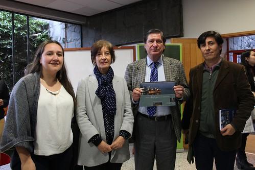 Patricia Bahamonde, Beatriz Vera, Jaime del Castillo y Jorge Balboa