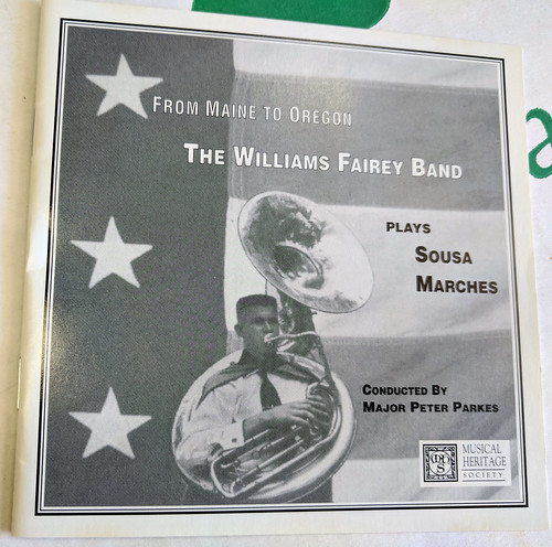 The Williams Fairey Band CD