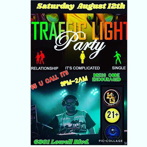 Tonight Come turn up with us on Sat Aug 12 2017 at Kenny Gees for The Taffic Light Party doors open at 9 pm til 2 am @dj_kane_1 on the table WEAR YOUR RELATIONSHIP STATUS!!! ❤️💛💚❤️💛💚❤️:ye
