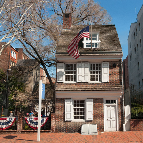 Betsy Ross House (1740), view02, 239 Arch St, Philadelphia, PA, USA
