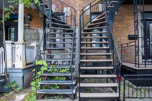 2017 - Montreal - Row Housing Stairs