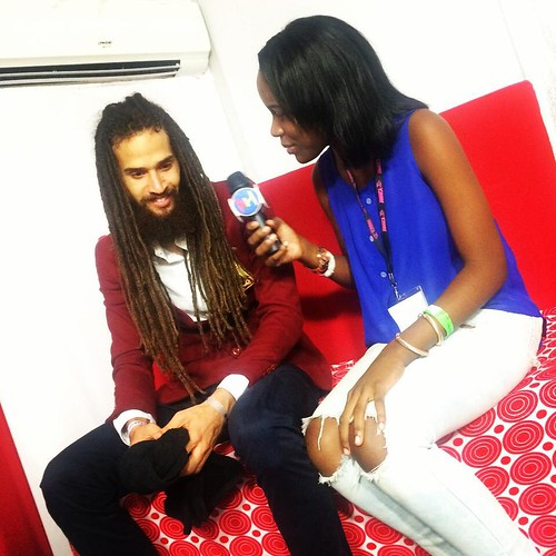 We took this  opportunity to hang with @Keznamdi @reggaesumfest international Night 1