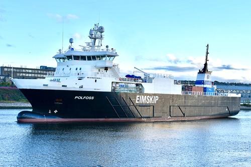 Polfoss - Aberdeen Harbour Scotland 11/8/17
