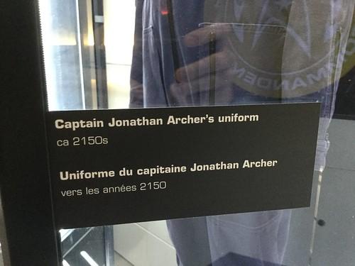 Captain Jonathan Archer's uniform