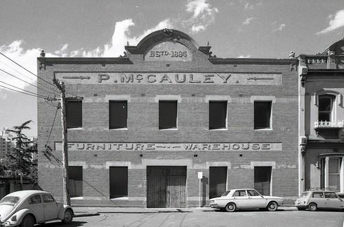 South Melbourne- McCaulay, General 1972-80 sheet 001  00588