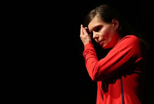 Olia Lialina performing