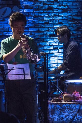 Satoko Fujii Quartet live at Cortez, Mito (Japan), 19 Aug 2017 -7S-00003