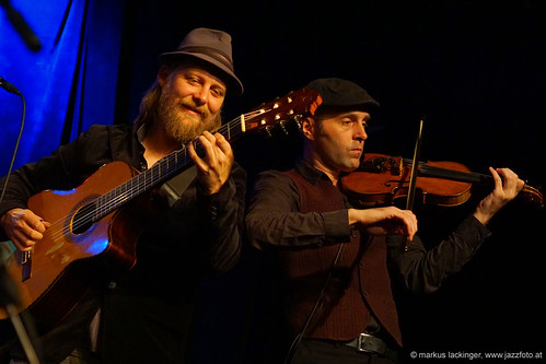 Julien Chanal: guitar / Oleksandr Sora: violin, Take the A-Train Musicfestival Salzburg