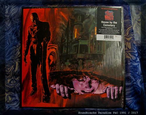 HOUSE BY THE CEMETERY (la Maison près du cimetière - Quella villa accanto al cimitero) (Walter RIZZATI) Horror OST LP