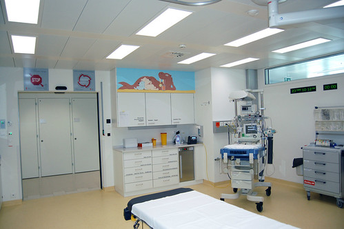 Berne, Inselspital, Urgences, chambre Schockraum (2)