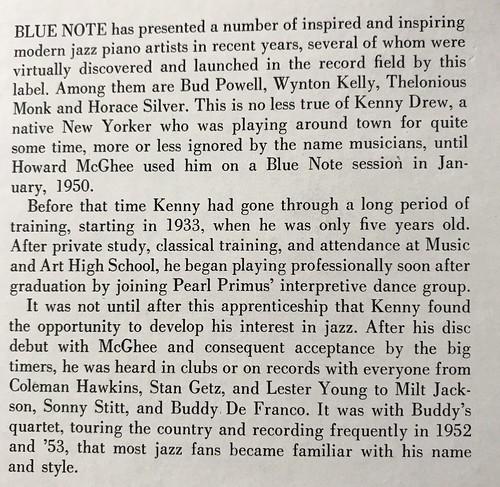 Kenny Drew Trio - New Modern Sounds