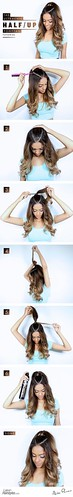 Hair Tutorials : The Ultrachic Half Up Ponytail Everyone is Raving About...